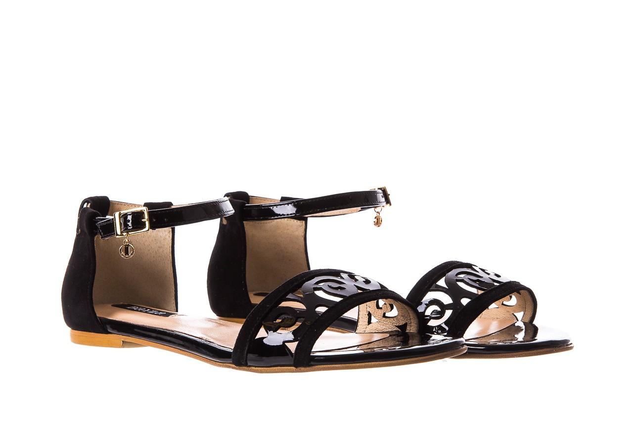Sandały bayla-130 04278 000m-06 czarny z, skóra naturalna lakierowana - bayla - nasze marki 9