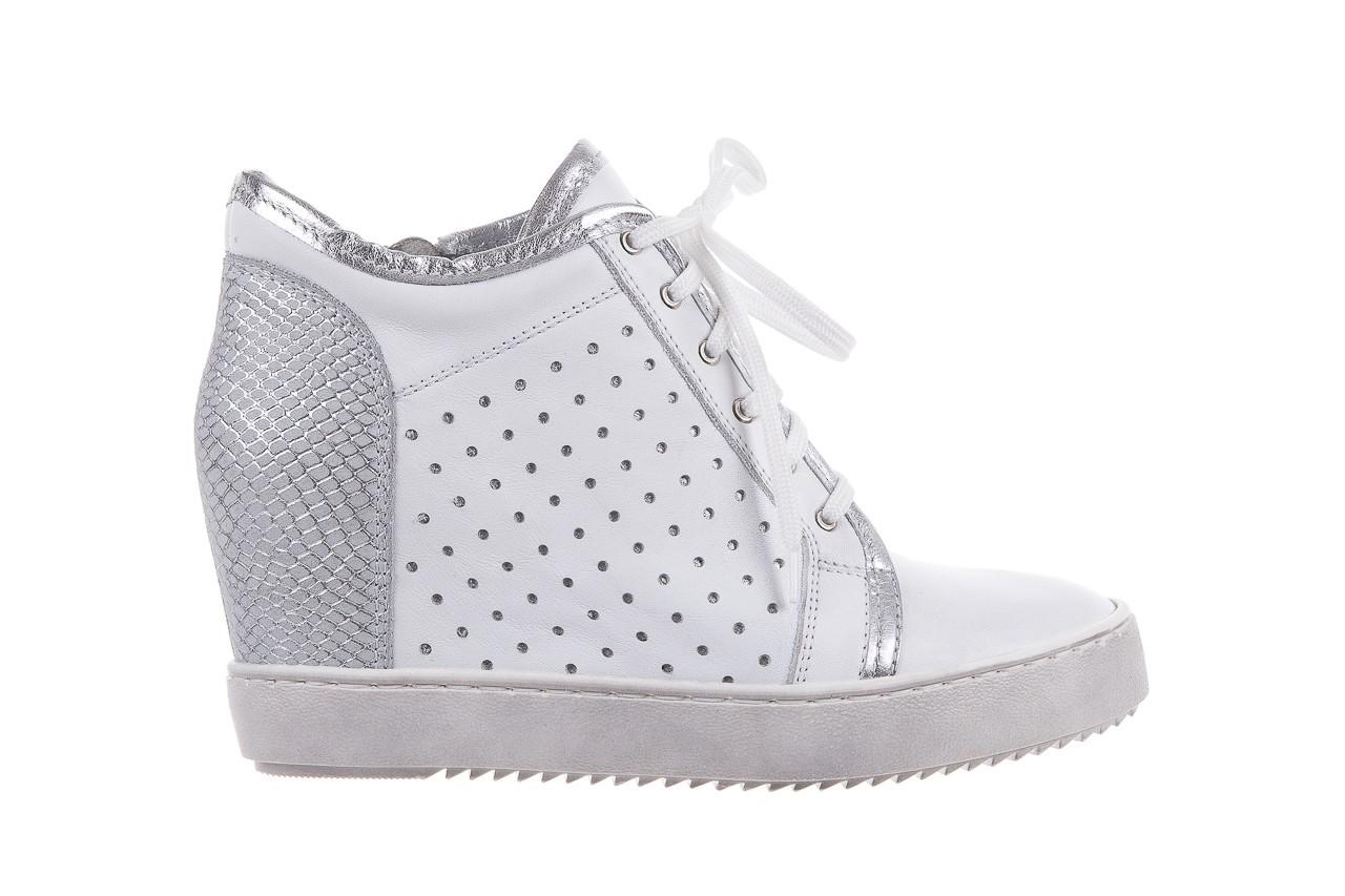 Sneakersy bayla-099 0656 biały, skóra naturalna  - bayla - nasze marki 6