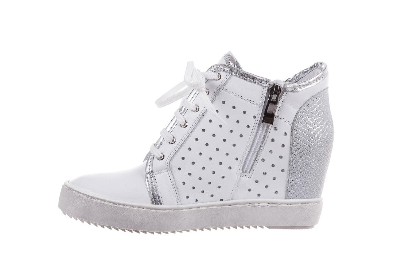 Sneakersy bayla-099 0656 biały, skóra naturalna  - bayla - nasze marki 8