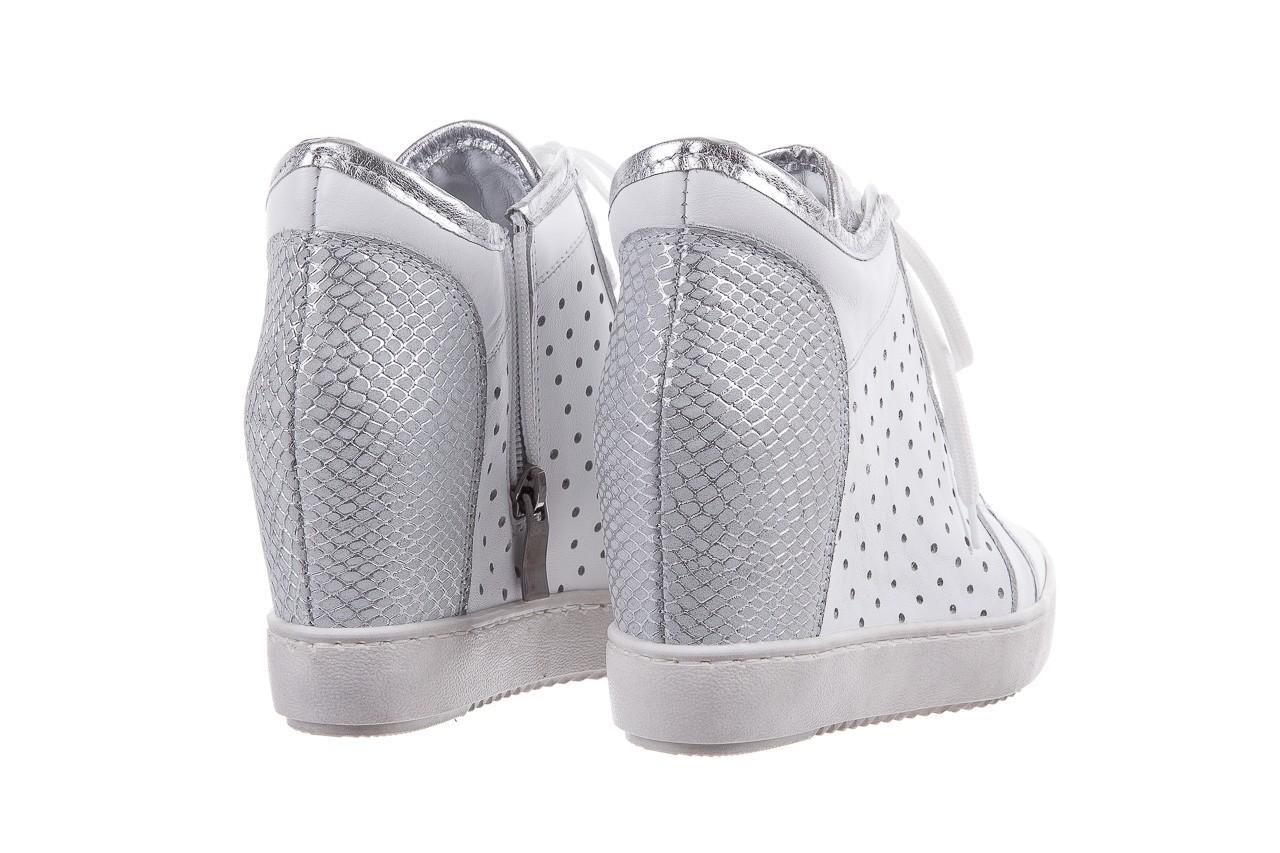 Sneakersy bayla-099 0656 biały, skóra naturalna  - bayla - nasze marki 9
