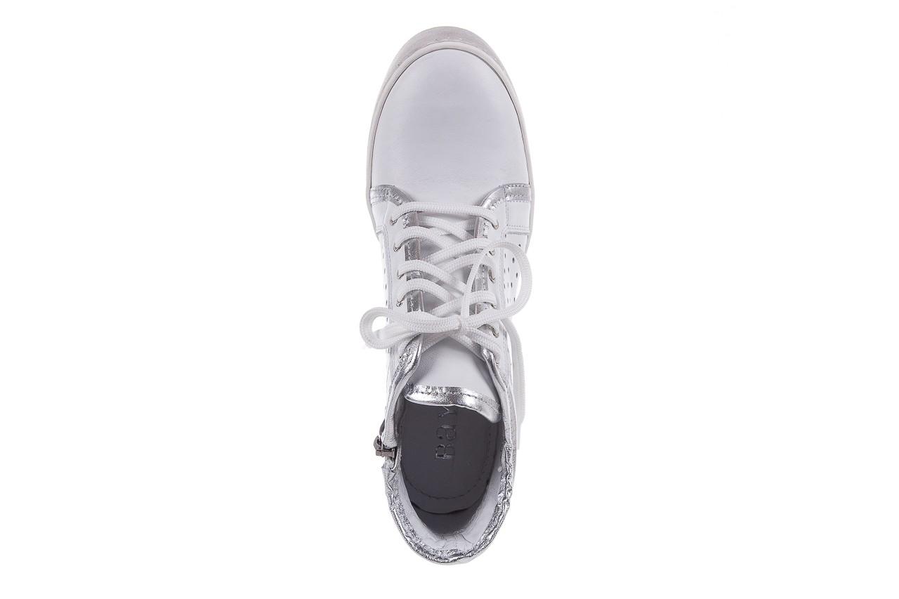 Sneakersy bayla-099 0656 biały, skóra naturalna  - bayla - nasze marki 11