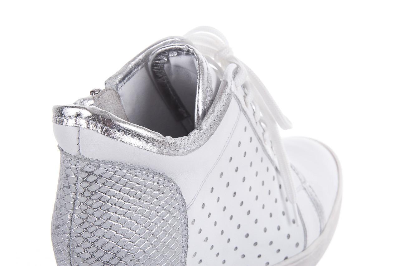 Sneakersy bayla-099 0656 biały, skóra naturalna  - bayla - nasze marki 10