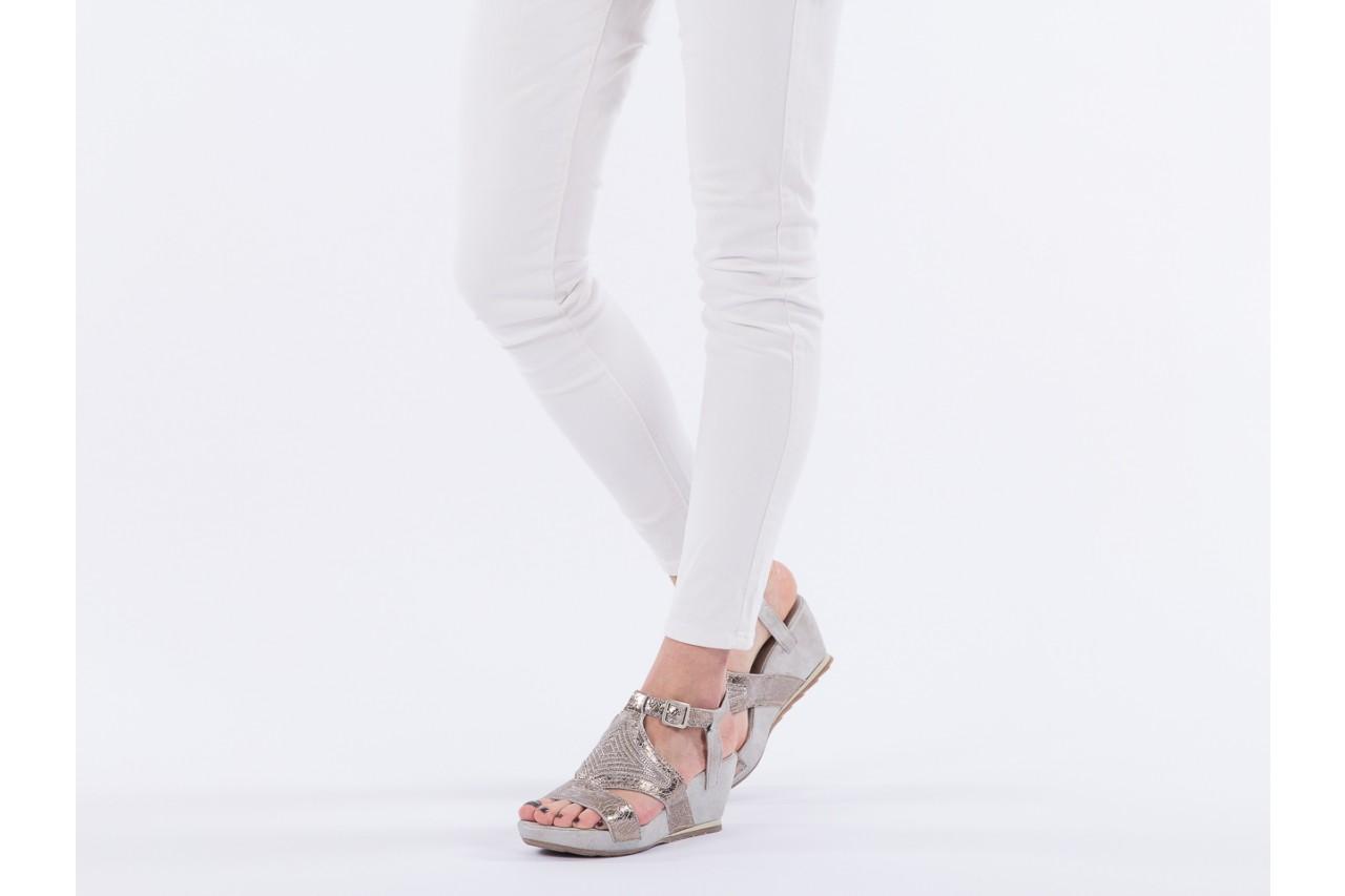 Sandały bayla-131 2714 platino, srebrny, skóra naturalna  - bayla - nasze marki 13