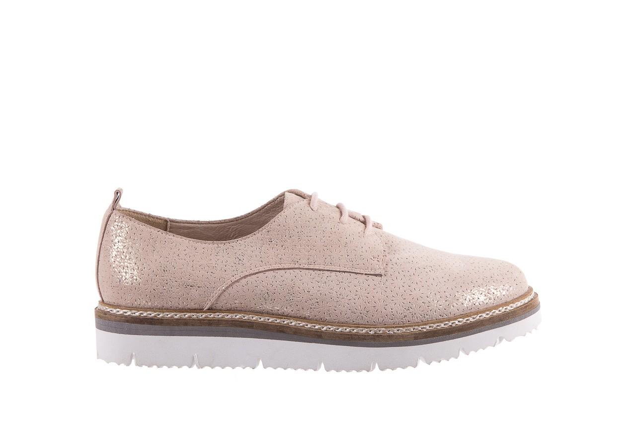Półbuty bayla-018 1822-x1 nude 018532, beż, skóra naturalna  - zamszowe - półbuty - buty damskie - kobieta 8