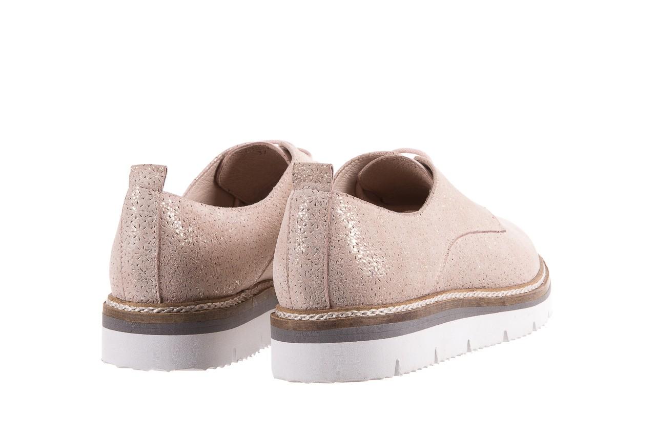 Półbuty bayla-018 1822-x1 nude 018532, beż, skóra naturalna  - zamszowe - półbuty - buty damskie - kobieta 11
