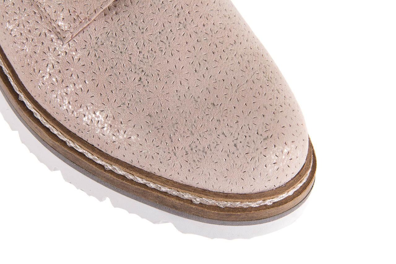 Półbuty bayla-018 1822-x1 nude 018532, beż, skóra naturalna  - zamszowe - półbuty - buty damskie - kobieta 13