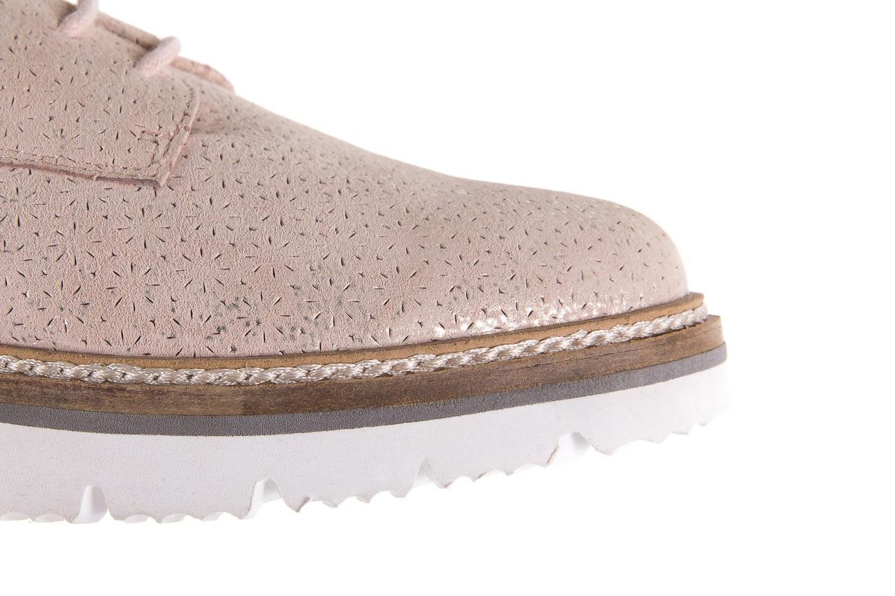 Półbuty bayla-018 1822-x1 nude 018532, beż, skóra naturalna  - zamszowe - półbuty - buty damskie - kobieta 12