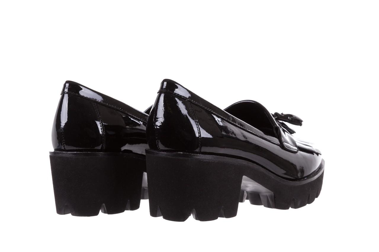 Mokasyny bayla-018 16471-x23 black, czarny, skóra naturalna lakierowana  - bayla - nasze marki 11