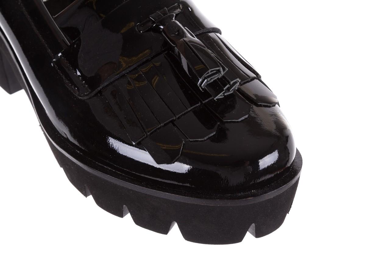 Mokasyny bayla-018 16471-x23 black, czarny, skóra naturalna lakierowana  - bayla - nasze marki 14