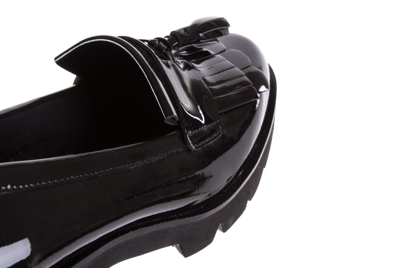 Mokasyny bayla-018 16471-x23 black, czarny, skóra naturalna lakierowana  - bayla - nasze marki 13