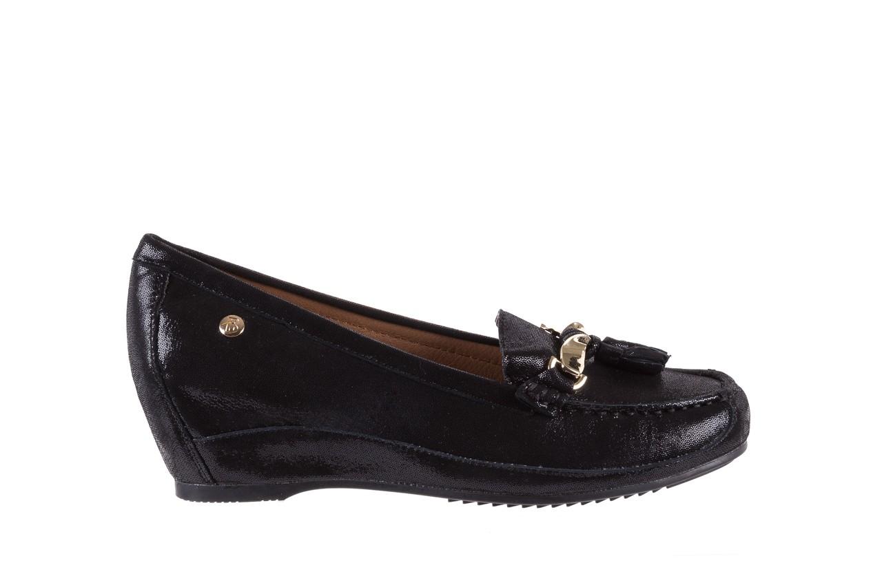 Mokasyny bayla-018 1647-35 black, czarny, skórna naturalna  - na koturnie - półbuty - buty damskie - kobieta 7