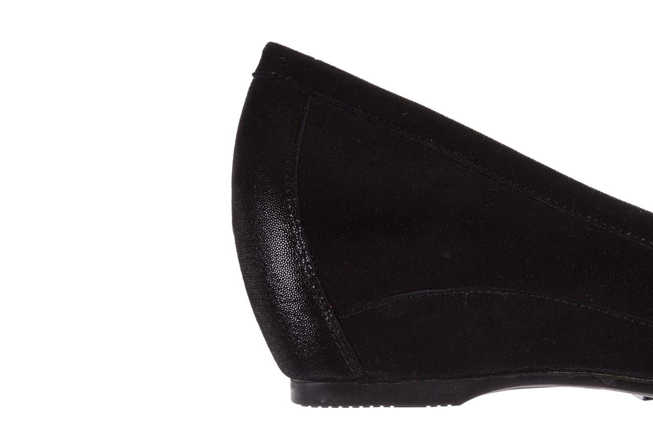 Mokasyny bayla-018 1647-35 black, czarny, skórna naturalna  - na koturnie - półbuty - buty damskie - kobieta 13