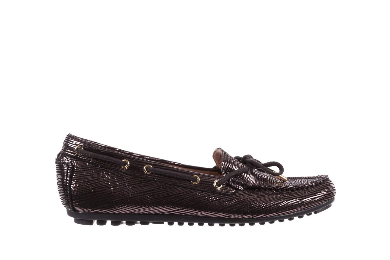 Mokasyny bayla-018 3173-358 pewter, czarny, skóra naturalna   - zamszowe - półbuty - buty damskie - kobieta 7
