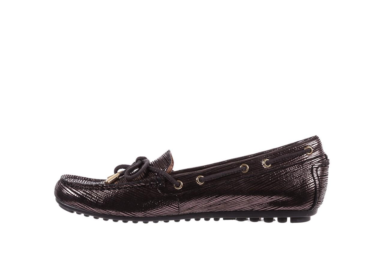 Mokasyny bayla-018 3173-358 pewter, czarny, skóra naturalna   - zamszowe - półbuty - buty damskie - kobieta 9