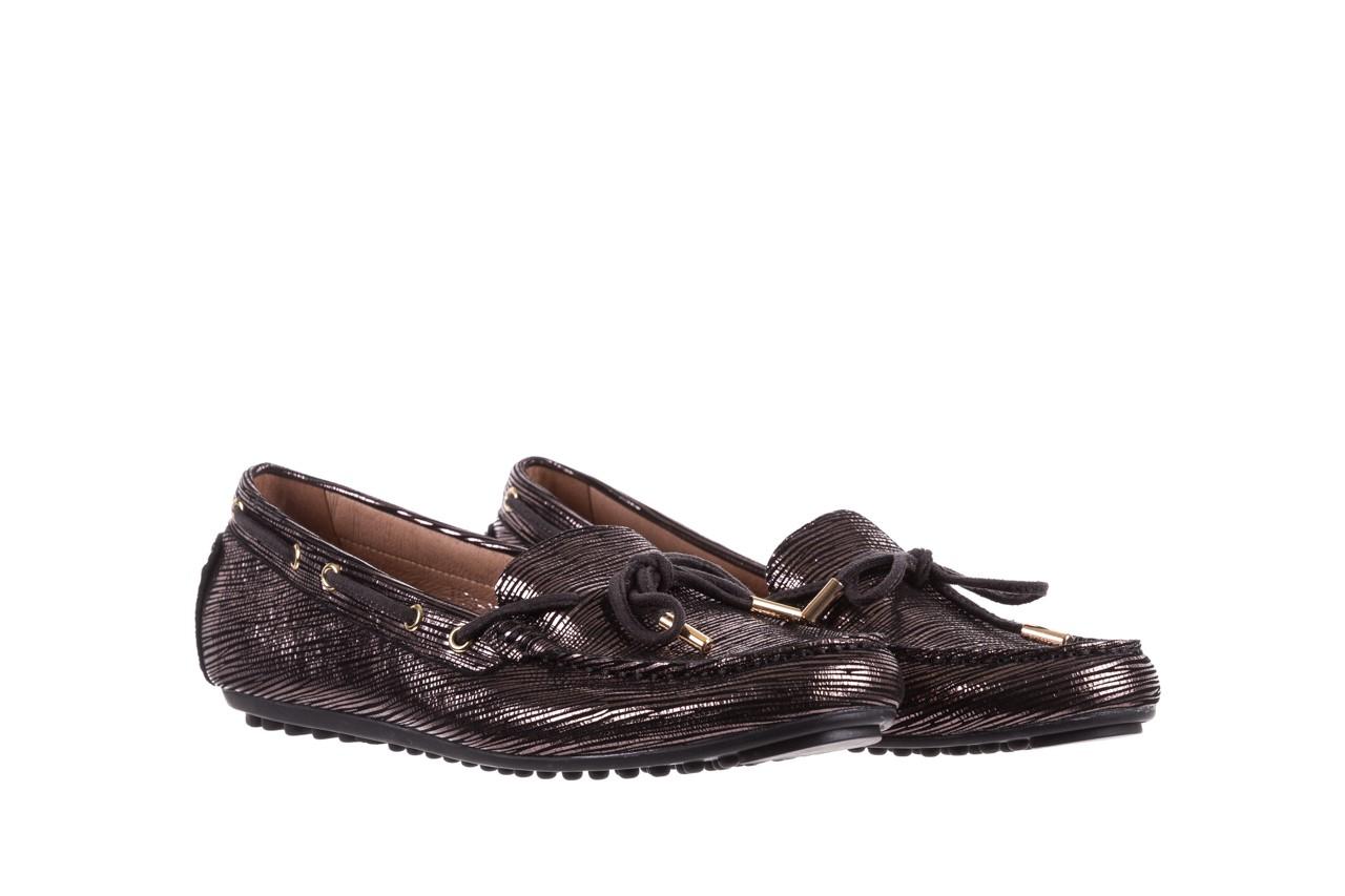 Mokasyny bayla-018 3173-358 pewter, czarny, skóra naturalna   - zamszowe - półbuty - buty damskie - kobieta 8