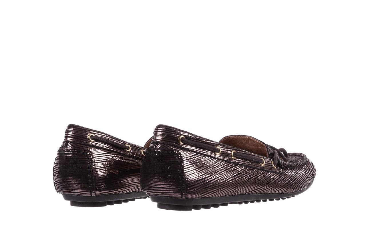 Mokasyny bayla-018 3173-358 pewter, czarny, skóra naturalna   - zamszowe - półbuty - buty damskie - kobieta 10