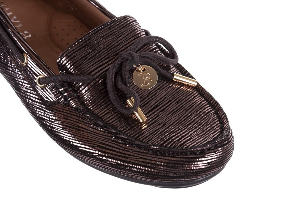 Mokasyny bayla-018 3173-358 pewter, czarny, skóra naturalna   - zamszowe - półbuty - buty damskie - kobieta 13