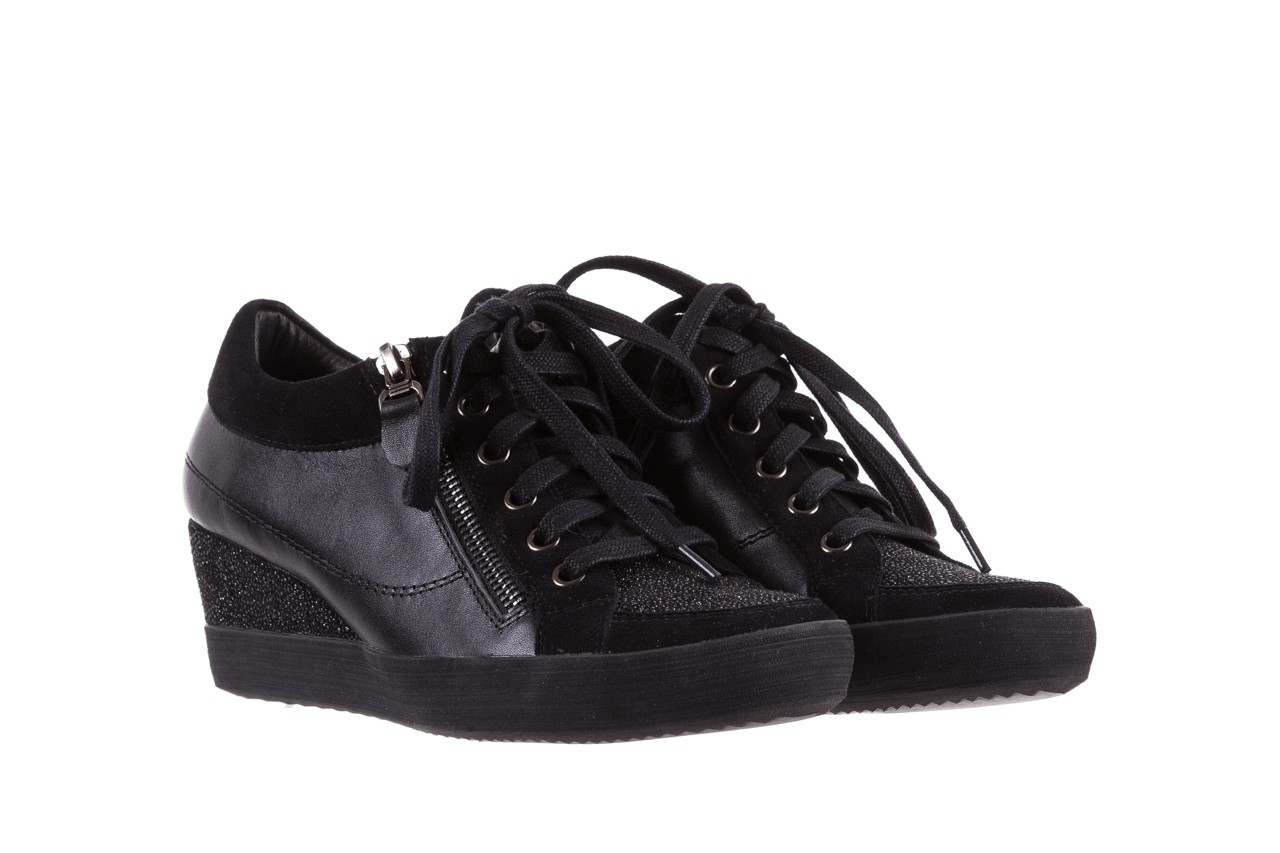Sneakersy bayla-018 sw-1707 black, czarny, skóra naturalna  - bayla - nasze marki 9