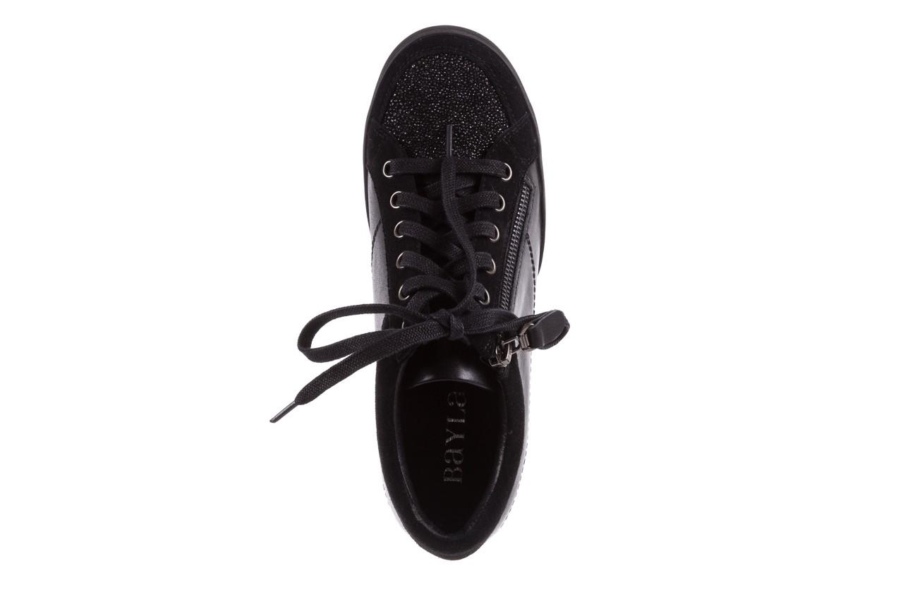 Sneakersy bayla-018 sw-1707 black, czarny, skóra naturalna  - bayla - nasze marki 12