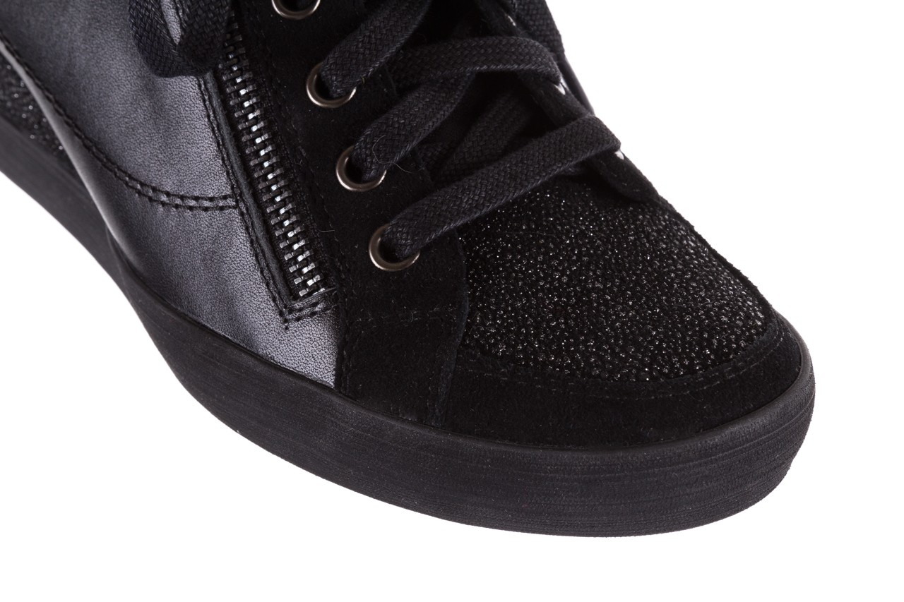 Sneakersy bayla-018 sw-1707 black, czarny, skóra naturalna  - bayla - nasze marki 13