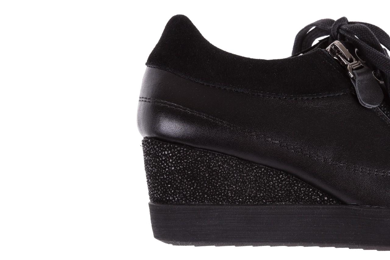Sneakersy bayla-018 sw-1707 black, czarny, skóra naturalna  - bayla - nasze marki 15