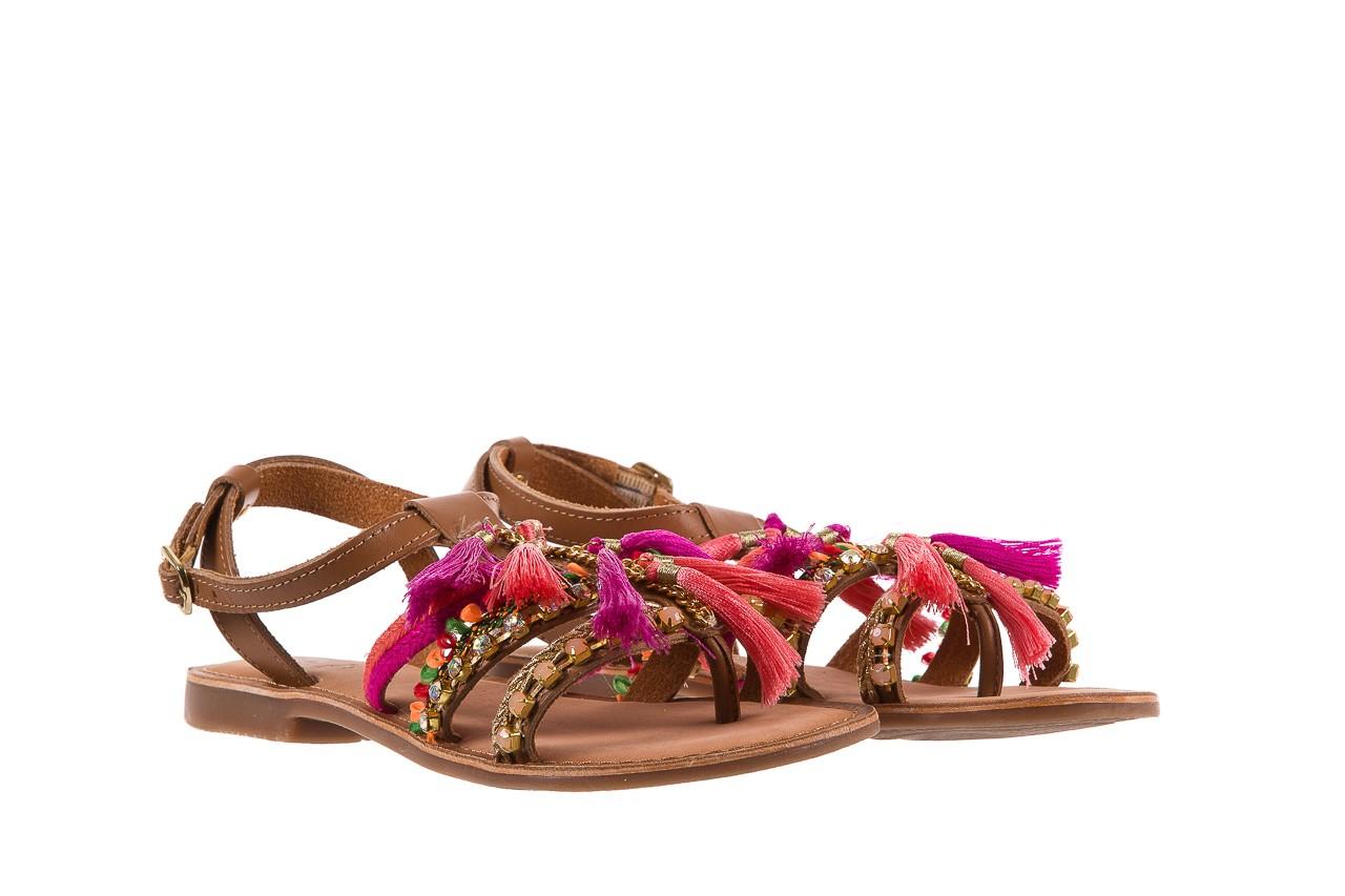 Sandały gioseppo nambi pink, brąz, skóra naturalna  - gioseppo - nasze marki 10