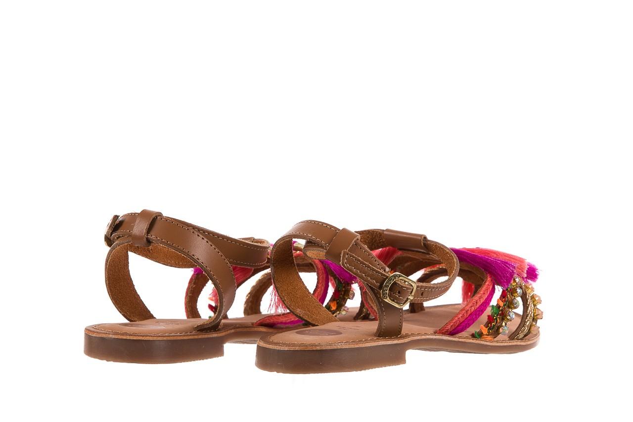 Sandały gioseppo nambi pink, brąz, skóra naturalna  - gioseppo - nasze marki 12