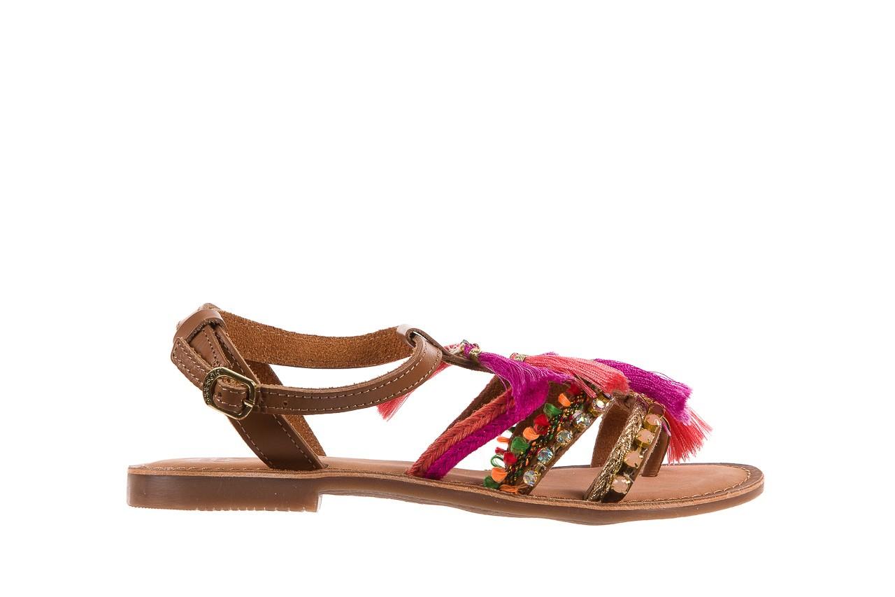 Sandały gioseppo nambi pink, brąz, skóra naturalna  - gioseppo - nasze marki 9
