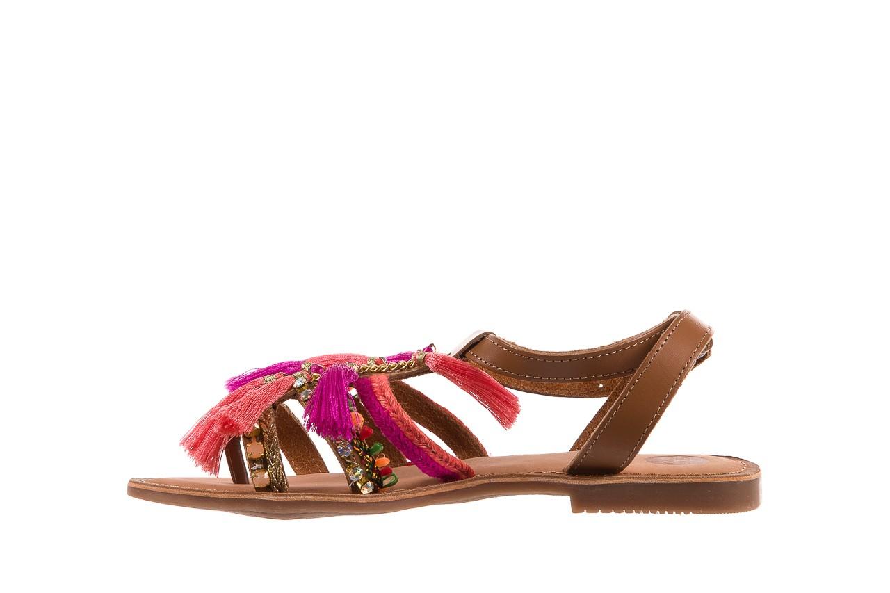 Sandały gioseppo nambi pink, brąz, skóra naturalna  - gioseppo - nasze marki 11