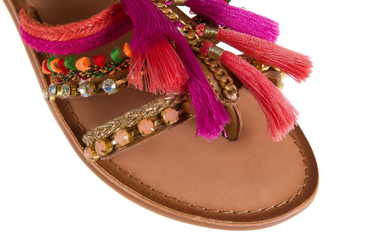 Sandały gioseppo nambi pink, brąz, skóra naturalna  - gioseppo - nasze marki 14