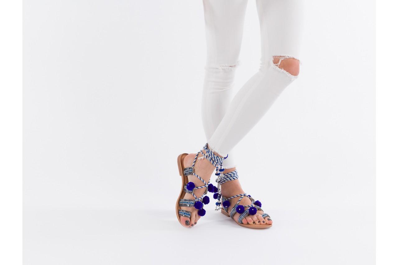 Sandały gioseppo yurak blue, granat, skóra naturalna  - sandały - dla niej - dodatkowe -10% 13