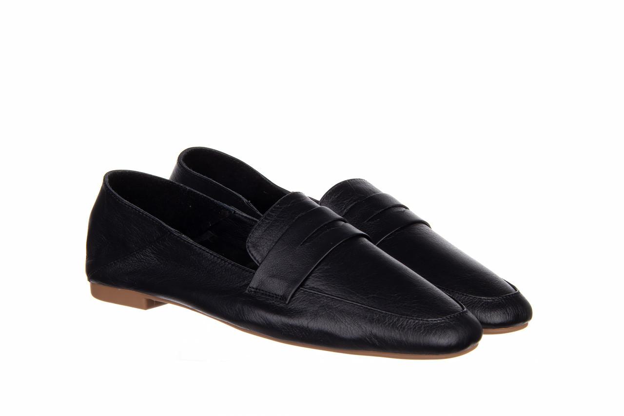 Półbuty bayla-161 138 4060 black 161222, czarny, skóra naturalna  - wsuwane - półbuty - buty damskie - kobieta 9