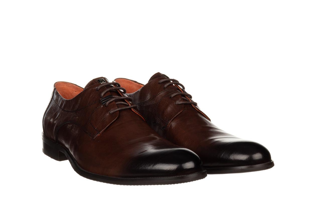 Półbuty john doubare q13e-s45-a77 coffee 104171, brąz, skóra naturalna  - wizytowe - półbuty - buty męskie - mężczyzna 11