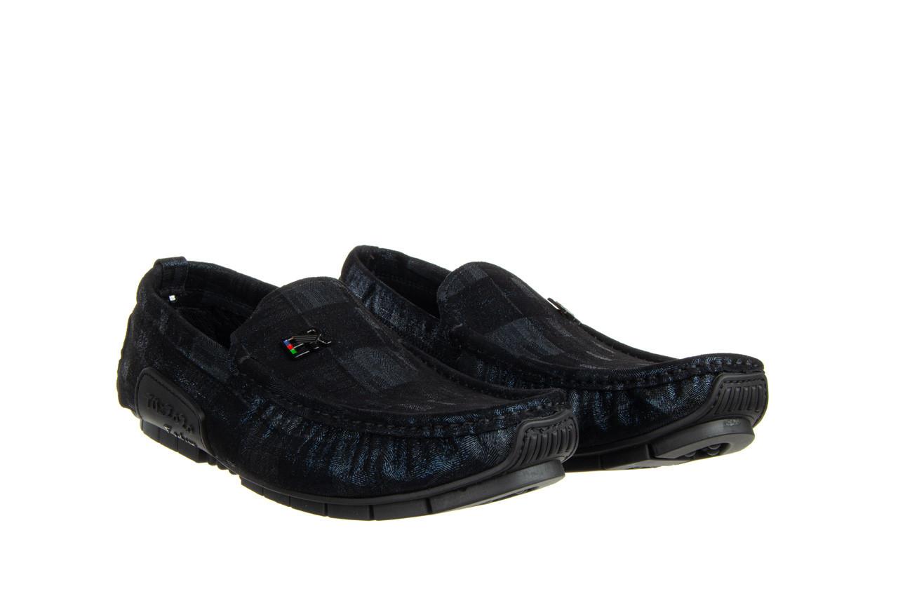 Mokasyny john doubare y198-109 black 104177, czarny, skóra naturalna  - nowości 10