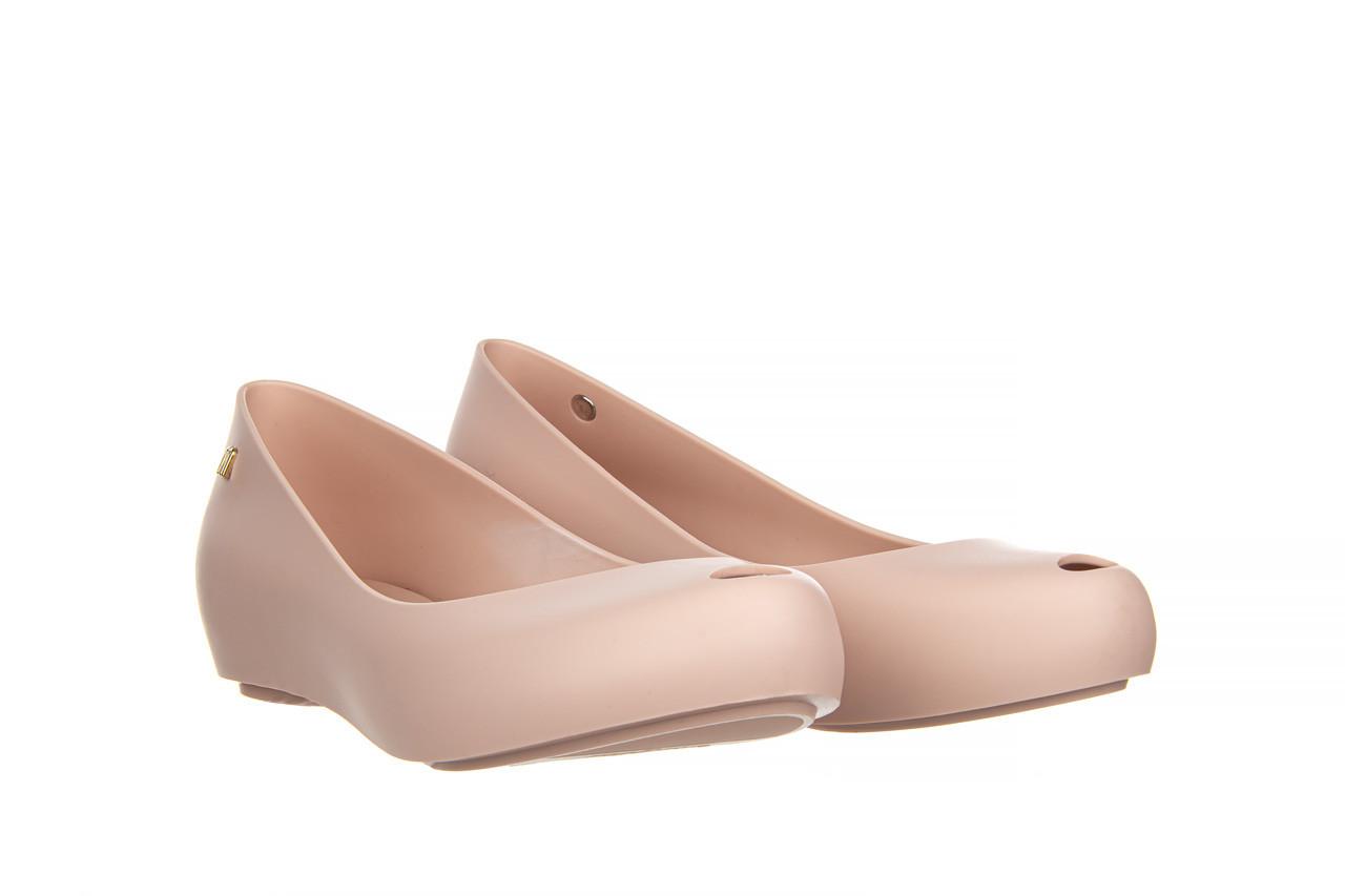 Baleriny melissa ultragirl basic ad light pink 21 010373, róż, guma  - gumowe - baleriny - buty damskie - kobieta 9
