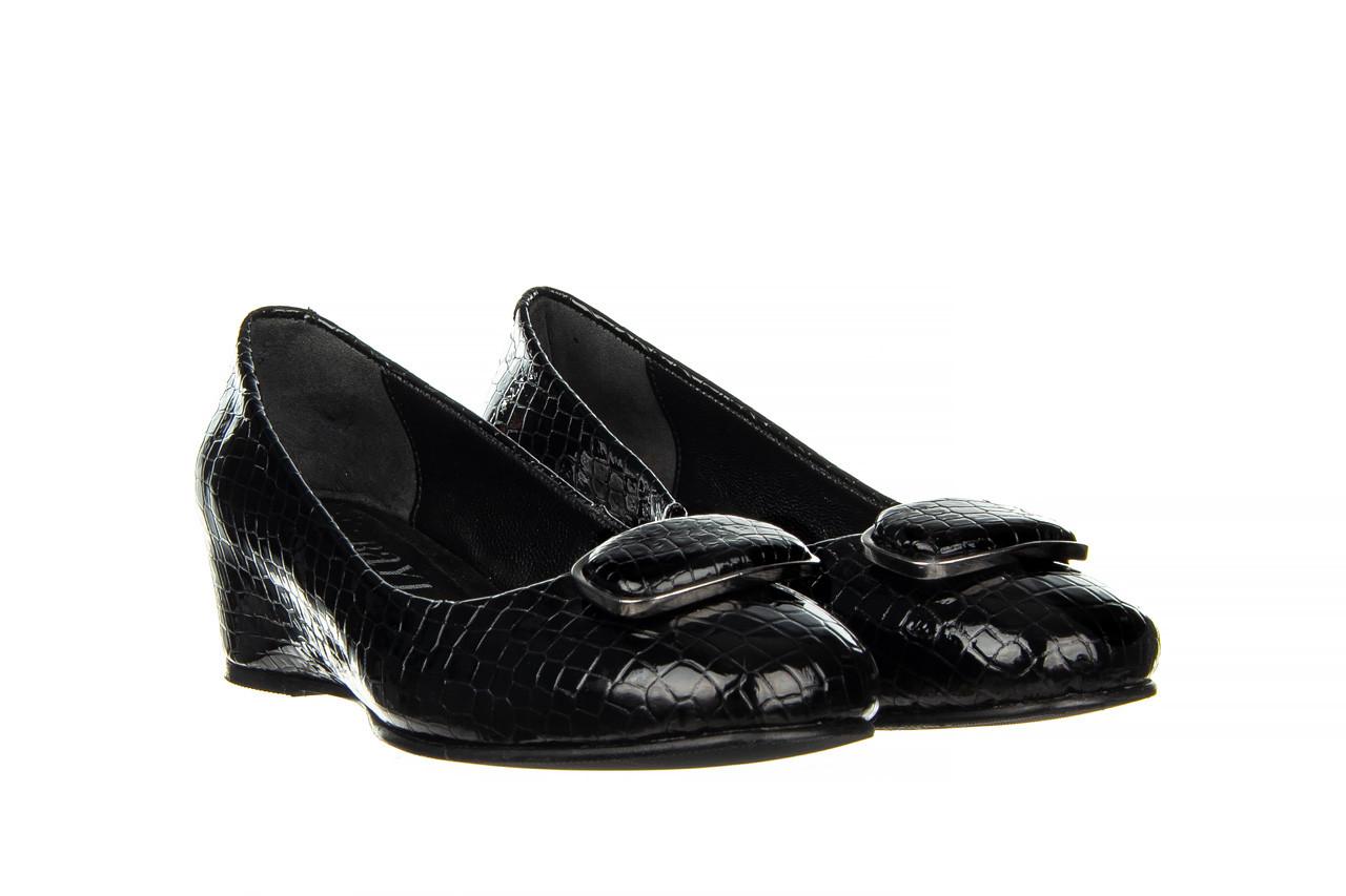 Baleriny bayla-187 105 black 187013, czarny, skóra naturalna  - bayla - nasze marki 8