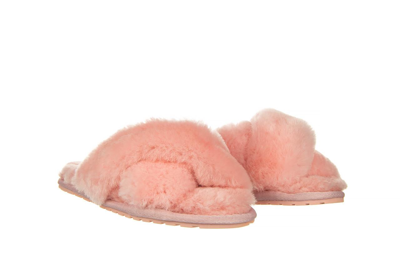 Kapcie emu mayberry baby pink 119132, róż, futro naturalne  - nowości 8