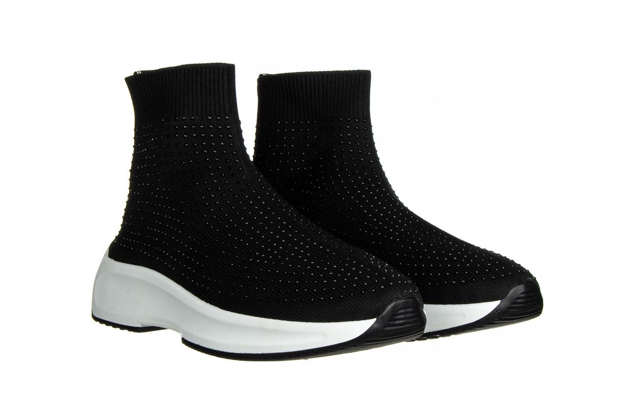 Sneakersy sca'viola l-15 black 047194, czarny, materiał - trendy - kobieta 9