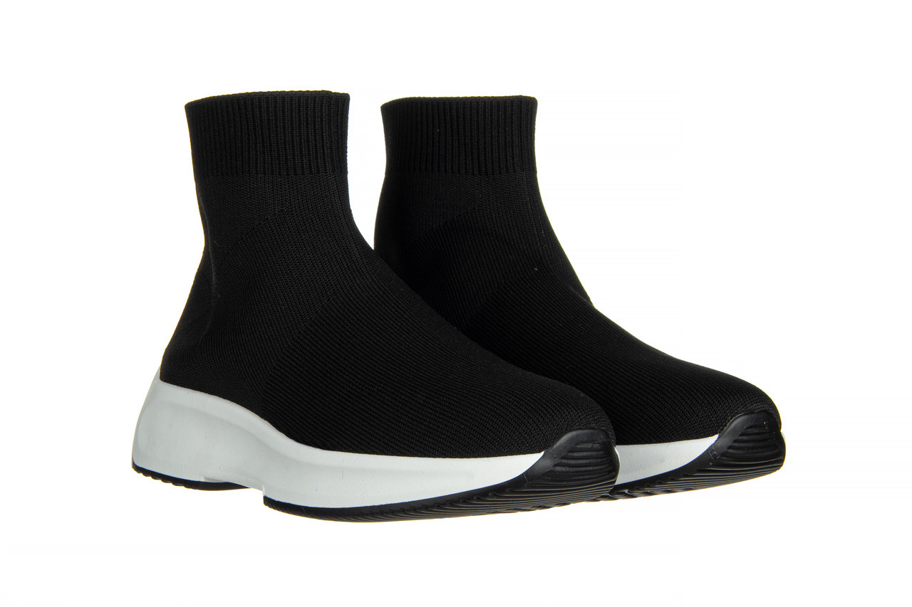 Sneakersy sca'viola l-16 black 047195, czarny, materiał - jesień-zima 2020/2021 9