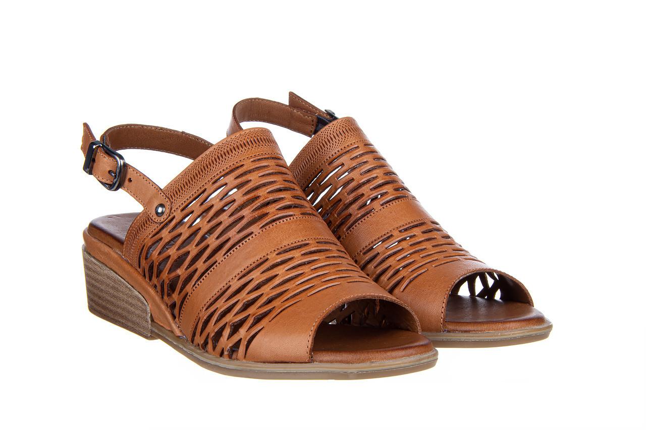 Sandały bayla-161 061 1600 tan 161201, brąz, skóra naturalna  - bayla - nasze marki 9