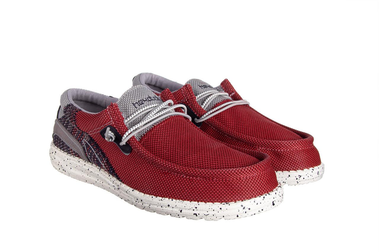 Półbuty heydude wally hawk lava grey 003200, czerwony, materiał - trendy - mężczyzna 9