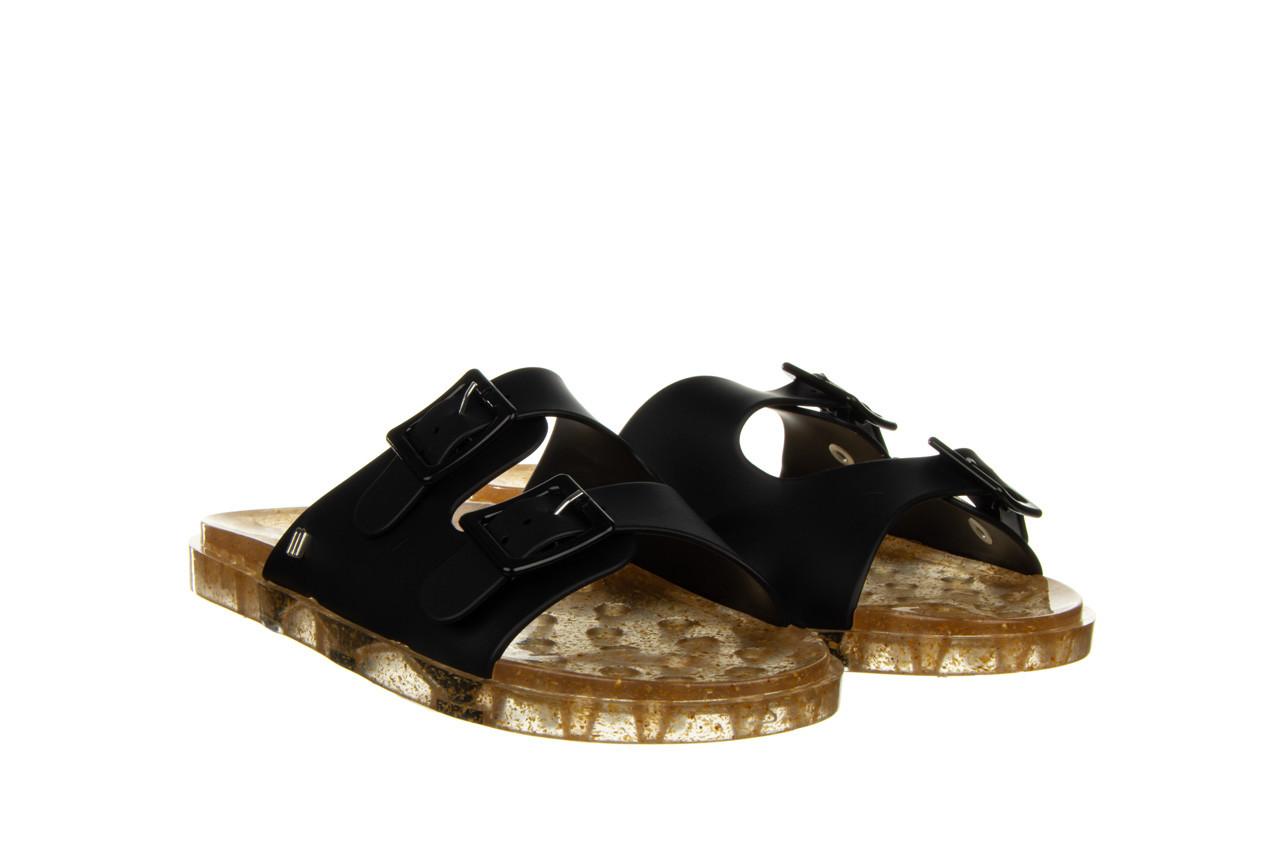Klapki melissa wide ad black beige transparent 010357, czarny, guma - klapki - buty damskie - kobieta 8