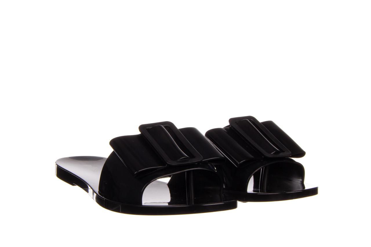 Klapki melissa babe ad black black 010337, czarny, guma - klapki - buty damskie - kobieta 9