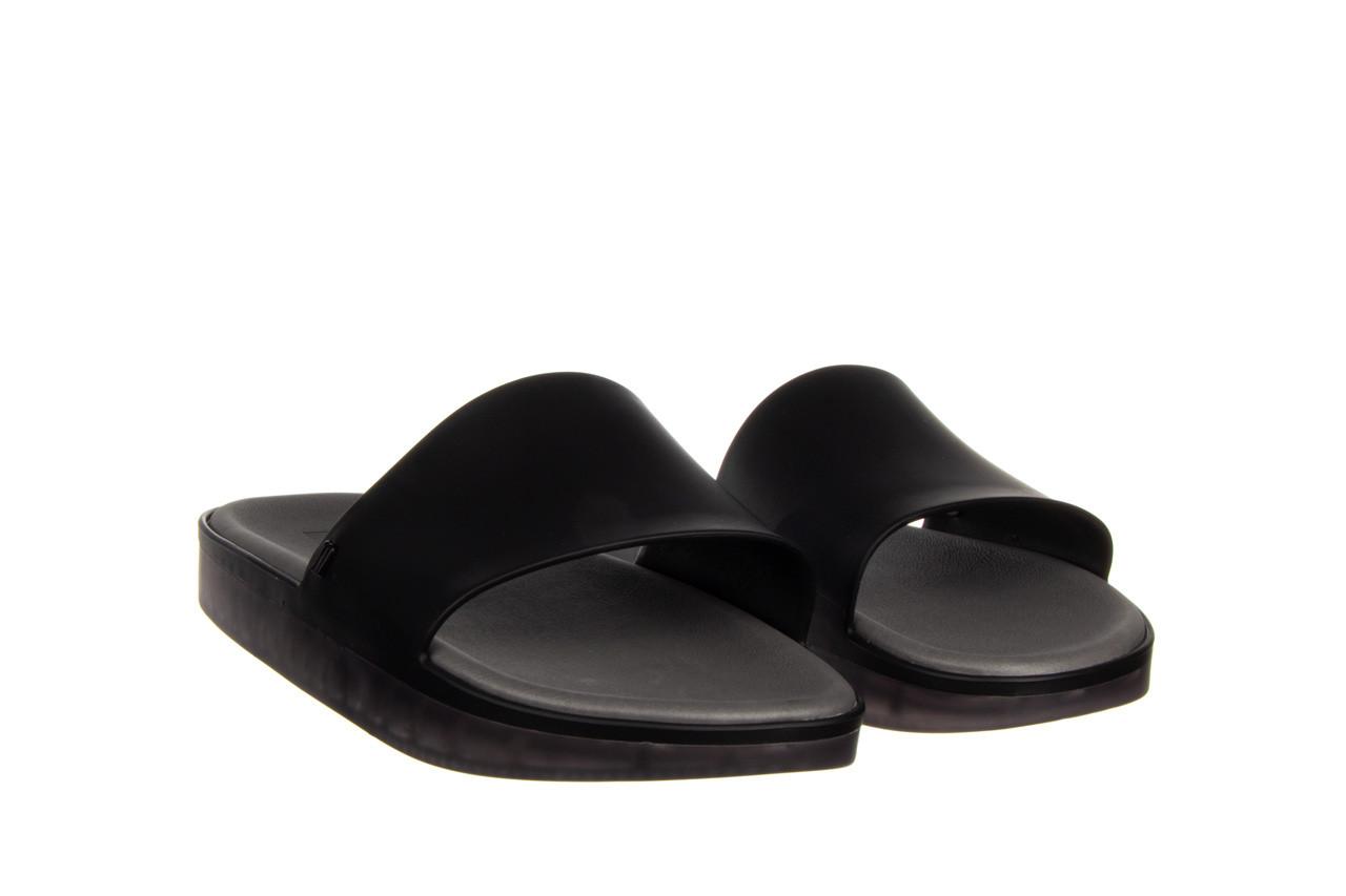 Klapki melissa beach slide next gen ad matte black smoke 010338, czarny, guma - klapki - buty damskie - kobieta 8