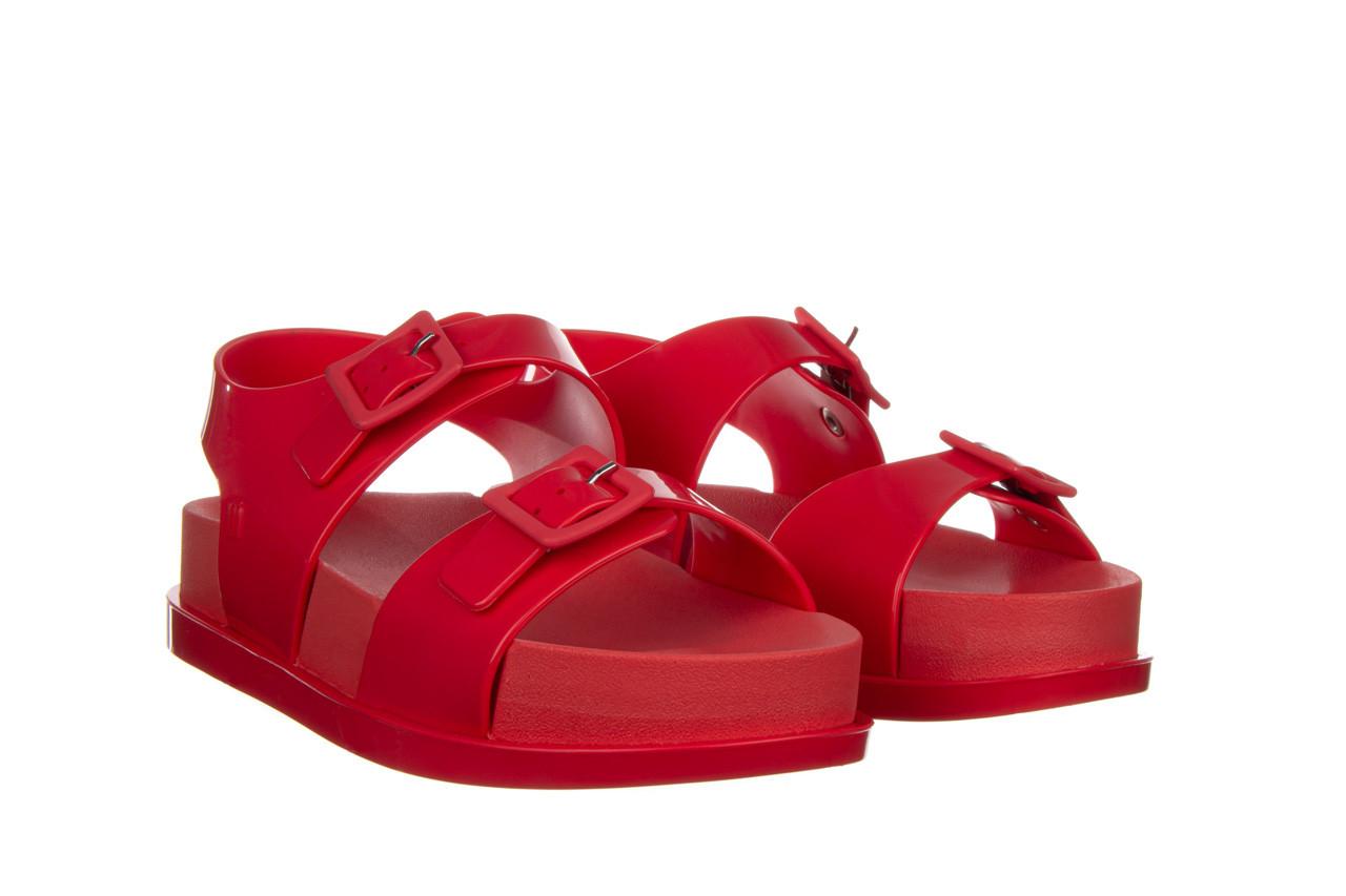 Sandały melissa wide platform ad red 010363, czerwony, guma - nowości 9