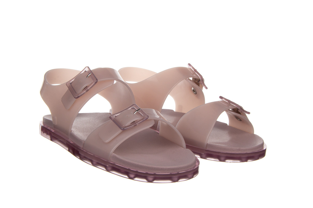 Sandały melissa wide sandal ad lilac 010359, fioletowy, guma - melissa - nasze marki 9