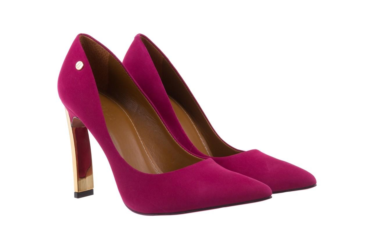 Szpilki bayla-067 118706l purpurowe, skóra naturalna - zamszowe - szpilki - buty damskie - kobieta 8