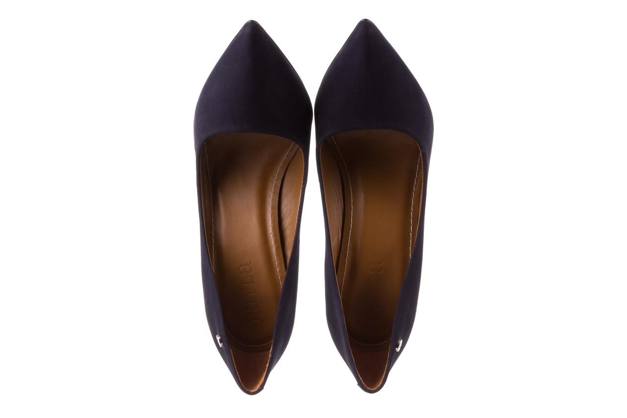 Szpilki bayla-067 118706l granatowe, skóra naturalna - zamszowe - szpilki - buty damskie - kobieta 11