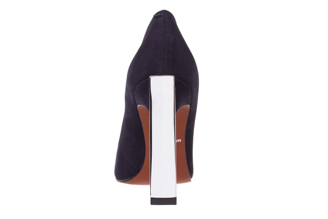 Szpilki bayla-067 118706l granatowe, skóra naturalna - zamszowe - szpilki - buty damskie - kobieta 13