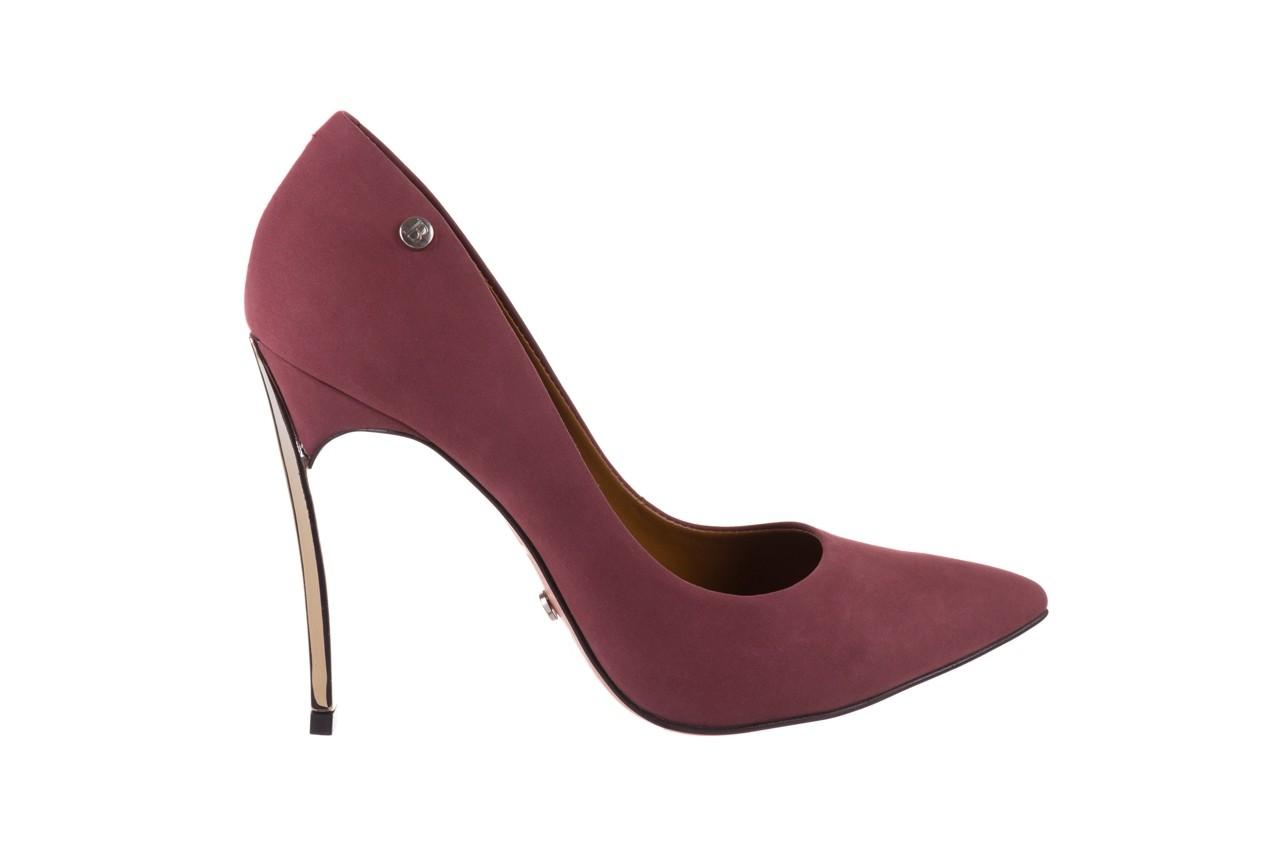 Szpilki bayla-067 118706l jasnofioletowe, skóra naturalna - zamszowe - szpilki - buty damskie - kobieta 7